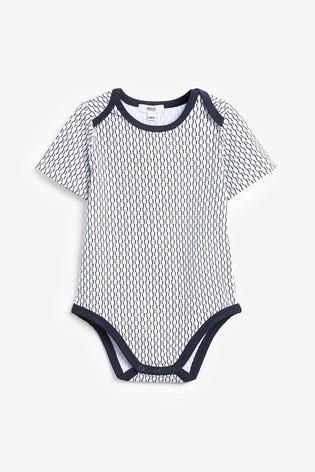 BOSS Baby Navy Logo 2 Pack Bodysuit Set
