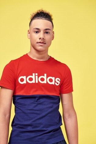 adidas Linear Block T-Shirt