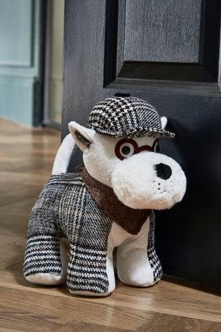 Sherlock Scottie Dog Doorstop