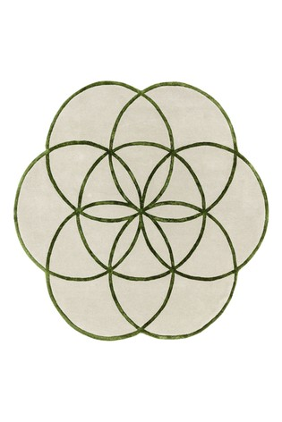 Lotus Floral Rug by Asiatic Rugs