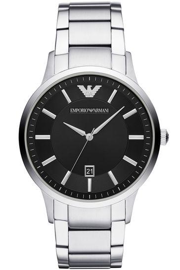 Emporio Armani Black Dial Watch