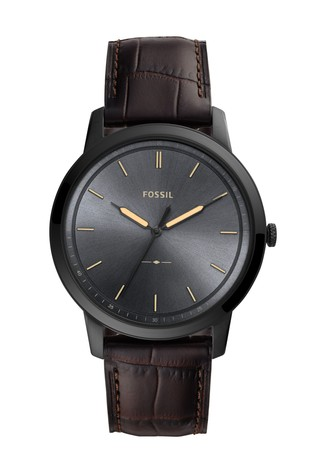 Fossil™ The Minimalist Brown Leather Watch