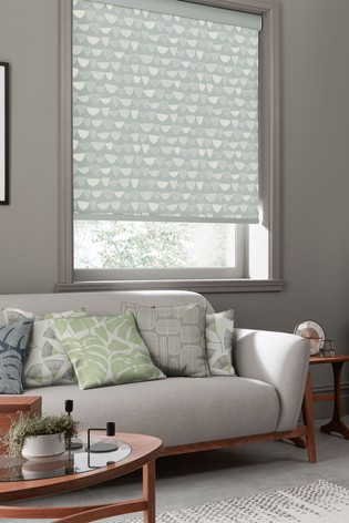 Allsorts Nordic Grey Made To Measure Roller Blind by MissPrint