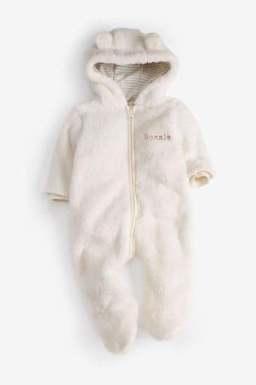 Personalised Bear Pramsuit