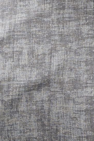 Metallic Geo Silver Grey Made To Measure Roman Blind