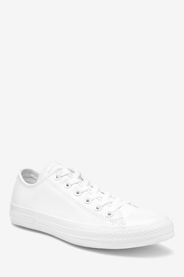 Converse Chuck Taylor All Stars Leather Ox Trainers