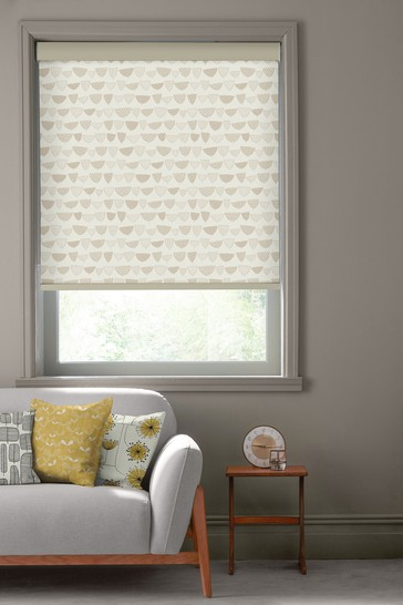 Allsorts Pebble Natural Made To Measure Roller Blind by MissPrint