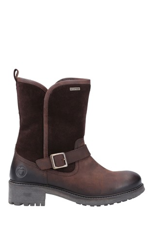 Cotswold Brown Randwick Calf-Length Boots