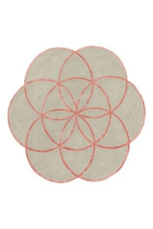 Asiatic Rugs Pink Lotus Floral Rug