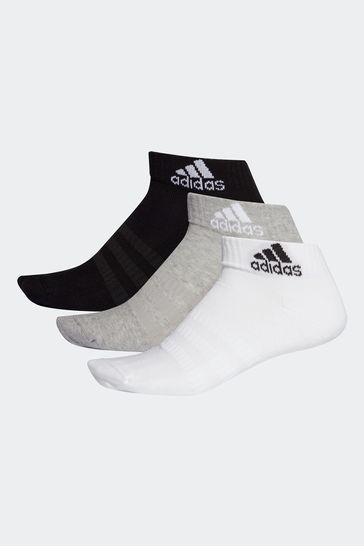 adidas Adult Ankle Socks 3 Pack