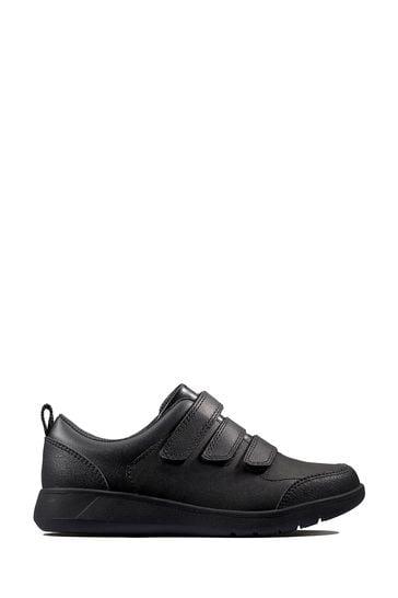 Clarks Black Scape Sky Y Shoes