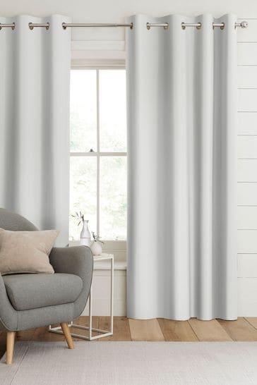 Silver Metallic Aria Made To Measure Curtains