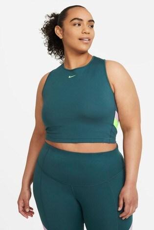 Nike Colourblock Stripe Cropped Training Vest