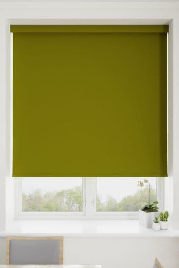 Haig Asparagus Green Made To Measure Blackout Roller Blind