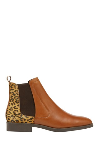 Joules Chelsea Boots With Back Interest