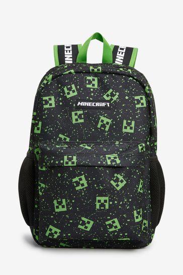 Black Minecraft Backpack