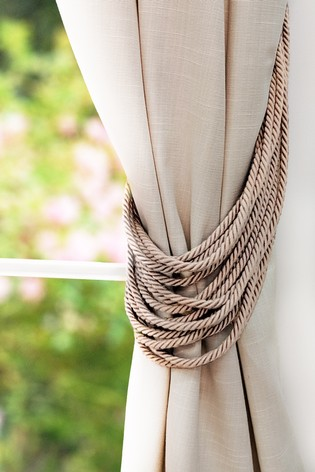 Olivia Bard Multi Rope Tie Backs