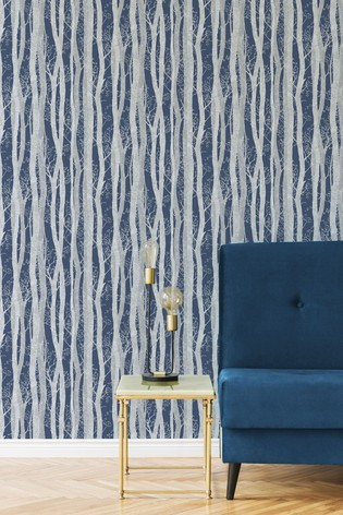 Sublime Dappled Trees Wallpaper by Art For The Home
