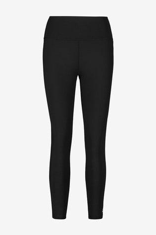 adidas Black High Waisted 7/8 Leggings