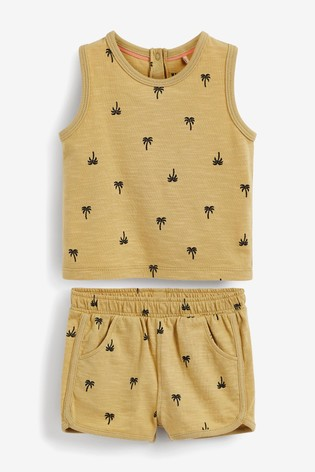 Myleene Klass Baby Vest And Short Set