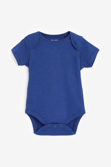 Bright 5 Pack Short Sleeve Bodysuits (0mths-3yrs)