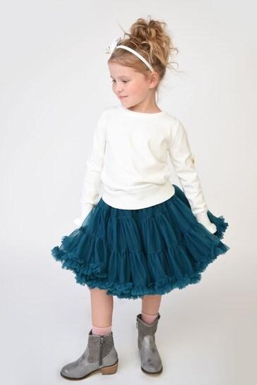 Angel's Face Green Pixie Tutu Skirt