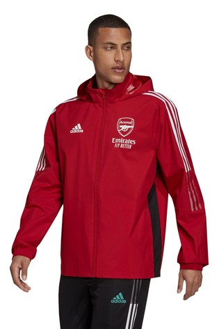 adidas Red Arsenal All Weather Jacket