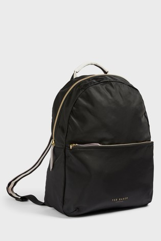 Ted Baker Ivarc Branded Webbing Nylon Foldaway Backpack