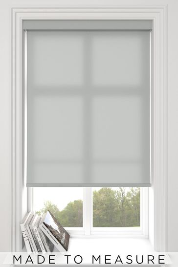 Asher Silver Grey Made To Measure Light Filtering Roller Blind