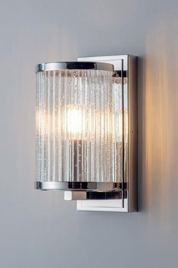 Gallery Direct Silver Yazmin Wall Light