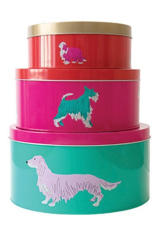 Joules Brights 3 Piece Cake Tins