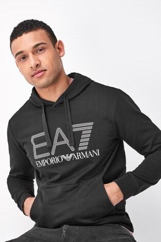 Emporio Armani EA7 Logo Hoodie