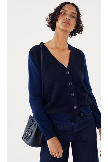 Mix/Jumper1234 Moss Side Cashmere Cardigan