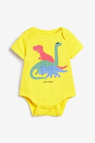 Gap Baby Dinosaur Print Bodysuit