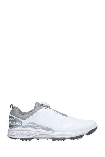 Skechers® White GO GOLF Torque Twist Sports Shoes
