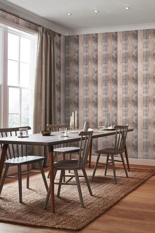Art For The Home Blush Fresco Country Plank Wallpaper