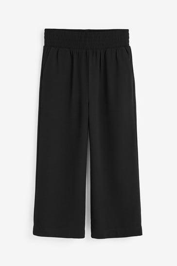Black Culotte Trousers (9-17yrs)