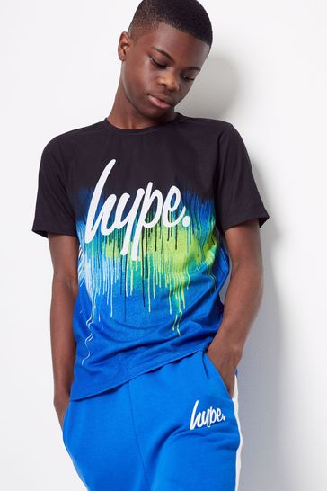 Hype. Glitch Drip T-Shirt