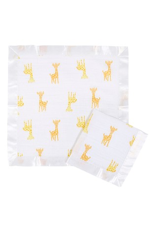 aden + anais Essentials White Security Blankets Two Pack