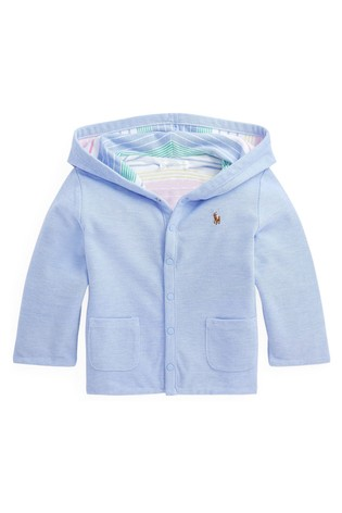 Ralph Lauren Multicoloured Stripe Reversible Baby Jacket