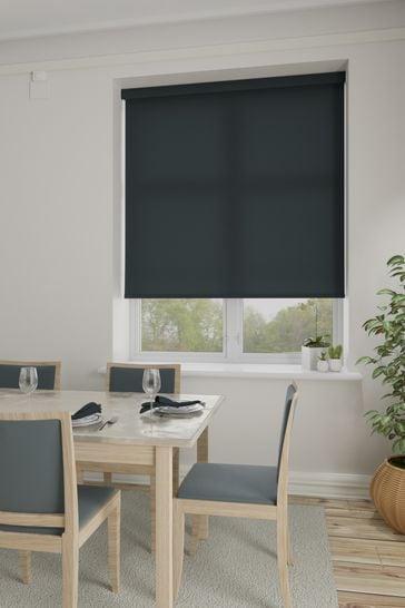 Asher Slate Grey Made To Measure Light Filtering Roller Blind