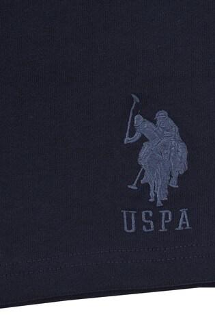 U.S. Polo Assn Blue Player 3 Sweat Shorts