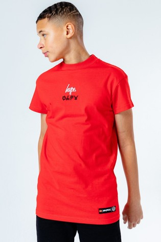 Hype. Red LEGO® Ninjago Jay Oversized Kids T-Shirt