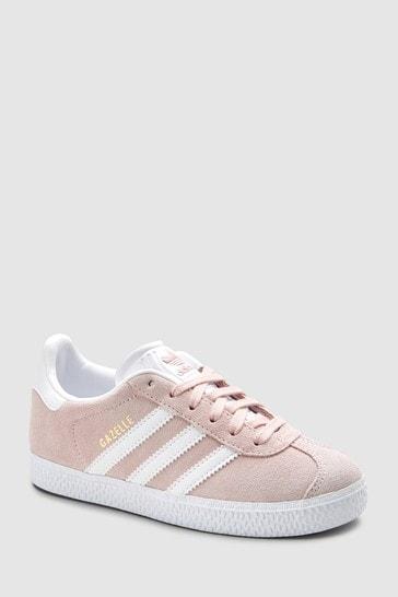 adidas Originals Pale Pink Gazelle Trainers