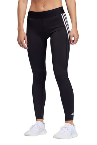 adidas Alphaskin 3 Stripe Leggings