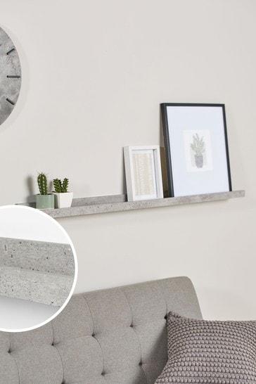 Concrete Effect Shelf