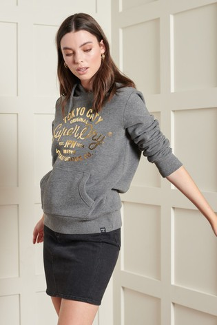 Superdry Limited Edition Vintage Sequin Hoody