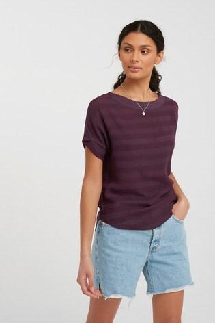Berry Stripe T-Shirt