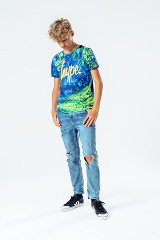 Hype. Oil Slick T-Shirt