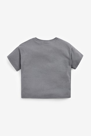 Grey License Sequin 101 Dalmatians T-Shirt (3-16yrs)